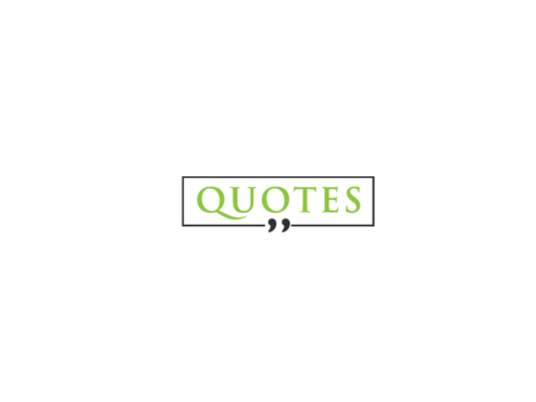 Quotes  A Logo, Monogram, or Icon  Draft # 659 by myson