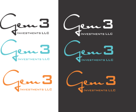 Gem3 Investments LLC A Logo, Monogram, or Icon  Draft # 30 by bajulijo