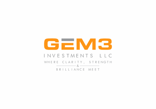 Gem3 Investments LLC A Logo, Monogram, or Icon  Draft # 38 by InfoTechDesign