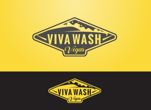 Viva Wash Vegas A Logo, Monogram, or Icon  Draft # 40 by Adwebicon