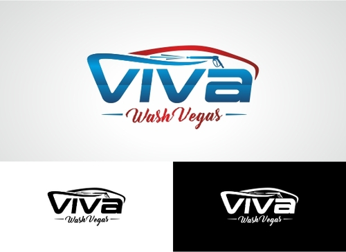 Viva Wash Vegas A Logo, Monogram, or Icon  Draft # 41 by Adwebicon
