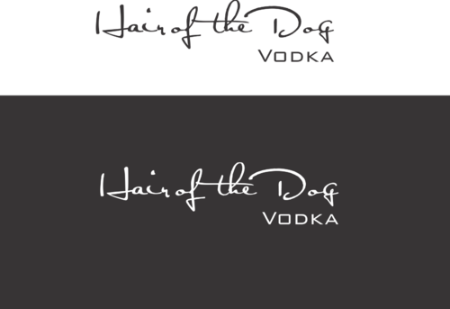 Hair of the Dog Vodka A Logo, Monogram, or Icon  Draft # 17 by bajulijo