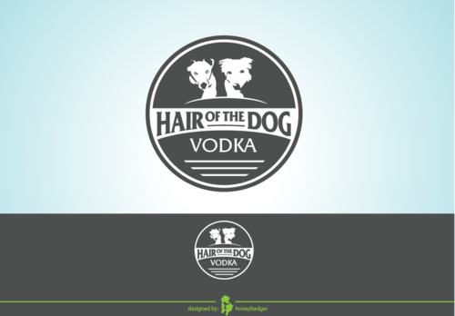 Hair of the Dog Vodka A Logo, Monogram, or Icon  Draft # 21 by honeybadger