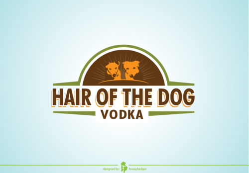 Hair of the Dog Vodka A Logo, Monogram, or Icon  Draft # 22 by honeybadger
