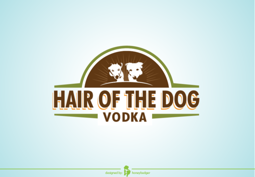 Hair of the Dog Vodka A Logo, Monogram, or Icon  Draft # 23 by honeybadger
