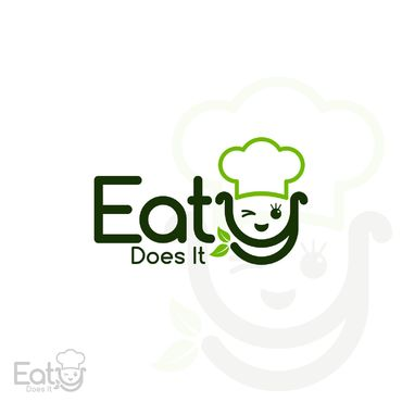 "If any text it should be only ""Eaty"" or ""Eaty Does It"" A Logo, Monogram, or Icon  Draft # 23 by SeranggaOtak"