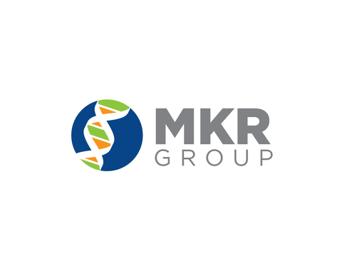MKR Group a picture of a genetic strand DNA A Logo, Monogram, or Icon  Draft # 23 by Harni