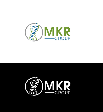 MKR Group a picture of a genetic strand DNA A Logo, Monogram, or Icon  Draft # 35 by jynemaze