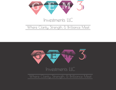 Gem3 Investments LLC A Logo, Monogram, or Icon  Draft # 85 by bajulijo