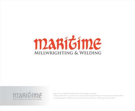 Maritime Millwrighting & Welding A Logo, Monogram, or Icon  Draft # 1 by logoGamerz