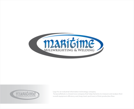 Maritime Millwrighting & Welding A Logo, Monogram, or Icon  Draft # 2 by logoGamerz