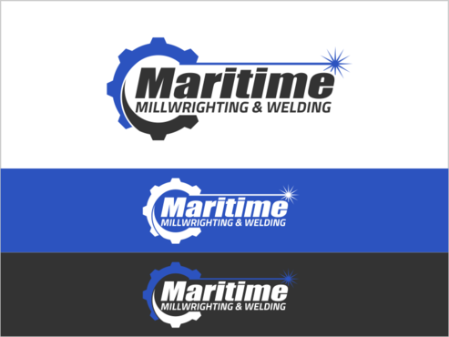 Maritime Millwrighting & Welding A Logo, Monogram, or Icon  Draft # 5 by thebullet
