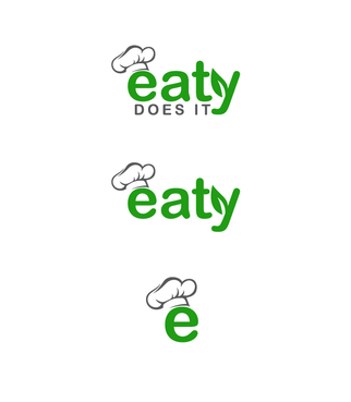 "If any text it should be only ""Eaty"" or ""Eaty Does It"" A Logo, Monogram, or Icon  Draft # 64 by gosto"