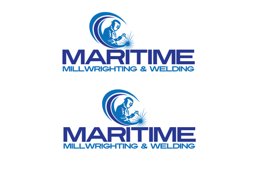 Maritime Millwrighting & Welding A Logo, Monogram, or Icon  Draft # 14 by TheTanveer