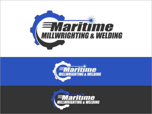 Maritime Millwrighting & Welding A Logo, Monogram, or Icon  Draft # 27 by thebullet
