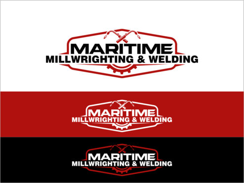 Maritime Millwrighting & Welding A Logo, Monogram, or Icon  Draft # 28 by thebullet