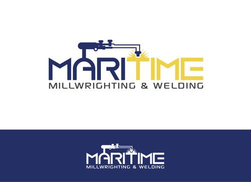 Maritime Millwrighting & Welding A Logo, Monogram, or Icon  Draft # 45 by Adwebicon