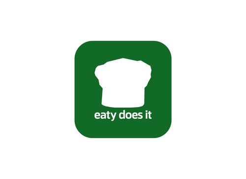 "If any text it should be only ""Eaty"" or ""Eaty Does It"" A Logo, Monogram, or Icon  Draft # 90 by crossdesain"