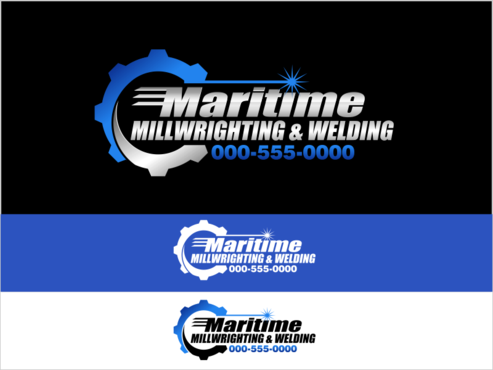 Maritime Millwrighting & Welding A Logo, Monogram, or Icon  Draft # 46 by thebullet