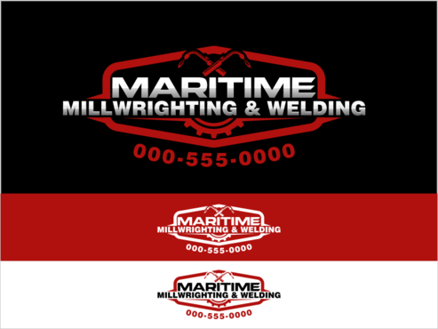 Maritime Millwrighting & Welding A Logo, Monogram, or Icon  Draft # 47 by thebullet