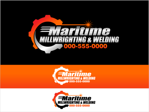 Maritime Millwrighting & Welding A Logo, Monogram, or Icon  Draft # 48 by thebullet