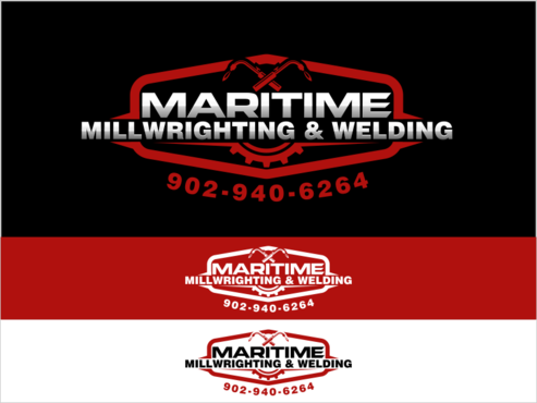Maritime Millwrighting & Welding A Logo, Monogram, or Icon  Draft # 50 by thebullet