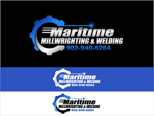 Maritime Millwrighting & Welding A Logo, Monogram, or Icon  Draft # 51 by thebullet