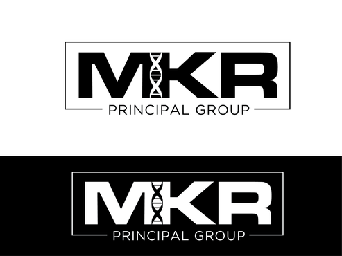 MKR Group a picture of a genetic strand DNA A Logo, Monogram, or Icon  Draft # 97 by Harni