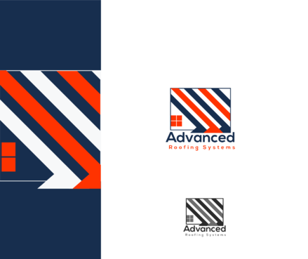 Advanced Roofing Systems  A Logo, Monogram, or Icon  Draft # 56 by goodlogo