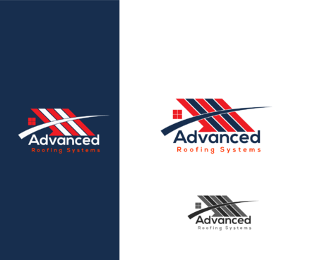 Advanced Roofing Systems  A Logo, Monogram, or Icon  Draft # 58 by goodlogo