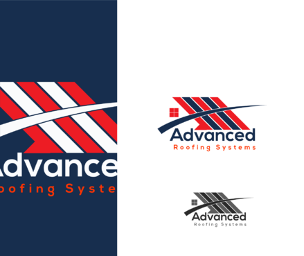 Advanced Roofing Systems  A Logo, Monogram, or Icon  Draft # 59 by goodlogo
