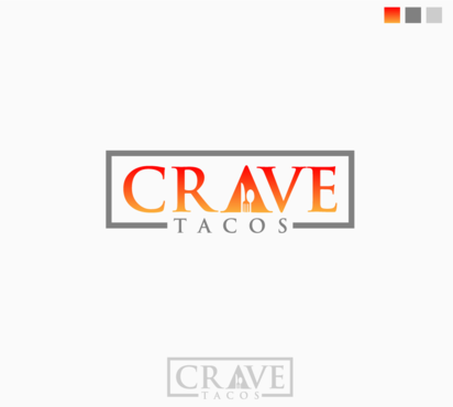 Crave Tacos A Logo, Monogram, or Icon  Draft # 1 by saimnaaz