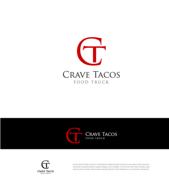 Crave Tacos A Logo, Monogram, or Icon  Draft # 2 by goodlogo