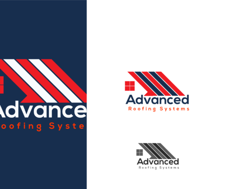 Advanced Roofing Systems  A Logo, Monogram, or Icon  Draft # 74 by goodlogo