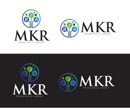 MKR Group a picture of a genetic strand DNA A Logo, Monogram, or Icon  Draft # 137 by Jake04