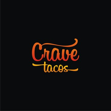 Crave Tacos A Logo, Monogram, or Icon  Draft # 7 by sigen
