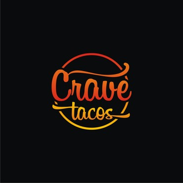 Crave Tacos A Logo, Monogram, or Icon  Draft # 8 by sigen