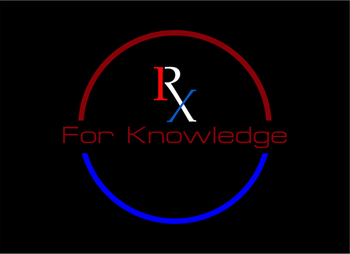 Rx For Knowledge A Logo, Monogram, or Icon  Draft # 45 by XiWhenezzO