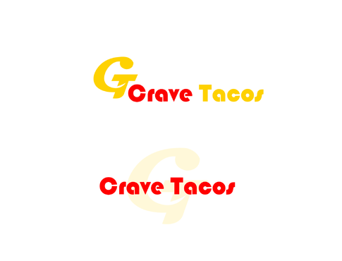 Crave Tacos A Logo, Monogram, or Icon  Draft # 12 by DesignBD