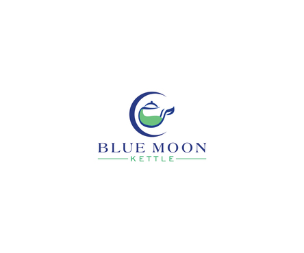Blue Moon Kettle A Logo, Monogram, or Icon  Draft # 39 by naushad hussain