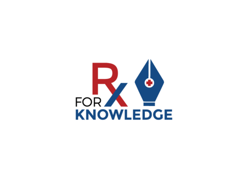 Rx For Knowledge A Logo, Monogram, or Icon  Draft # 51 by FauzanZainal