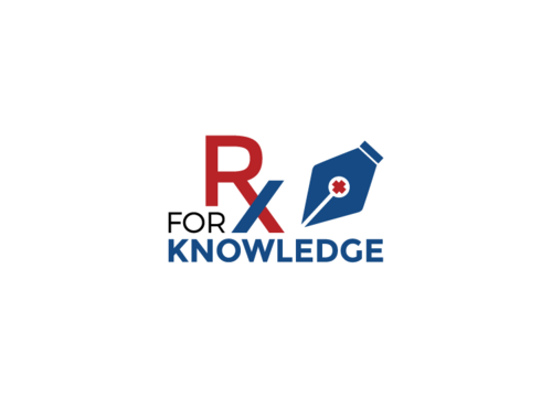 Rx For Knowledge A Logo, Monogram, or Icon  Draft # 52 by FauzanZainal