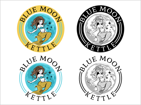 Blue Moon Kettle A Logo, Monogram, or Icon  Draft # 40 by thebullet