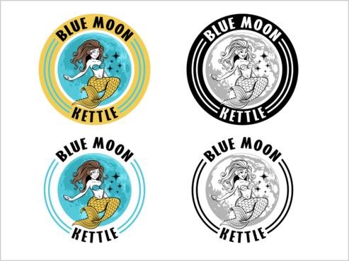 Blue Moon Kettle A Logo, Monogram, or Icon  Draft # 41 by thebullet