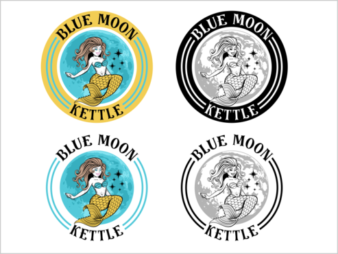 Blue Moon Kettle A Logo, Monogram, or Icon  Draft # 42 by thebullet