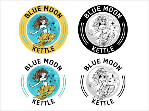 Blue Moon Kettle A Logo, Monogram, or Icon  Draft # 43 by thebullet