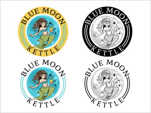 Blue Moon Kettle A Logo, Monogram, or Icon  Draft # 48 by thebullet