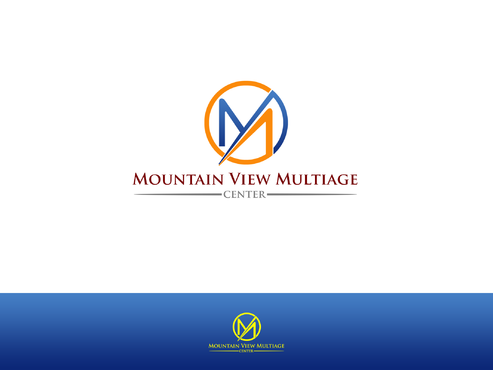 Mountain View Multiage Center A Logo, Monogram, or Icon  Draft # 98 by Lokeydesign