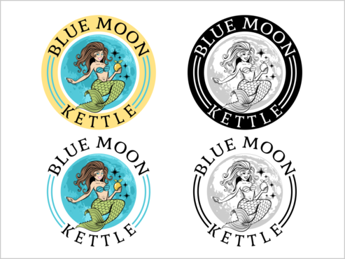 Blue Moon Kettle A Logo, Monogram, or Icon  Draft # 50 by thebullet