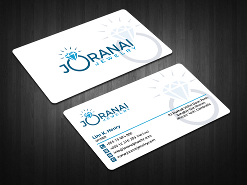 Joranai Jewelry Business Cards and Stationery  Draft # 121 by zahidrabby
